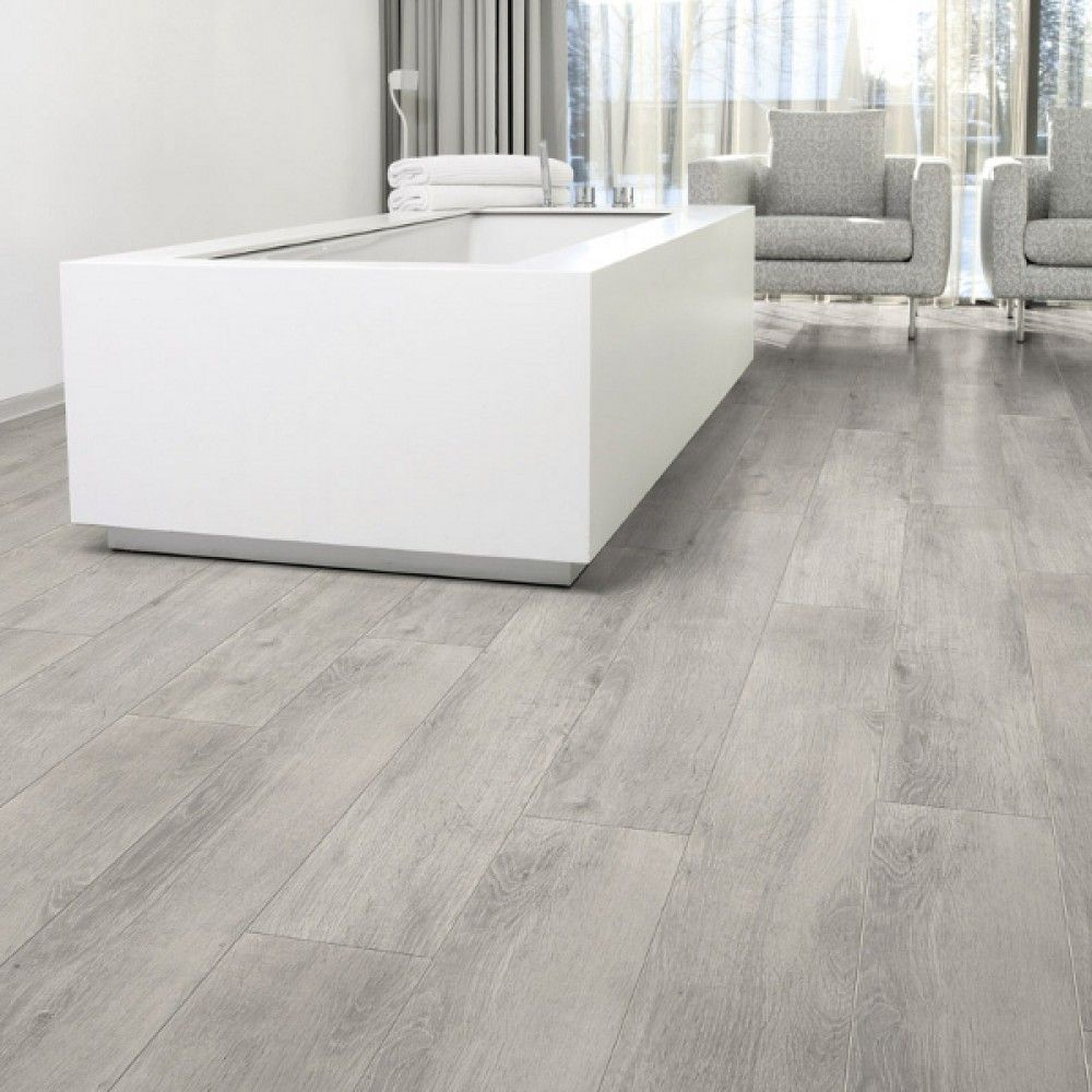 laminate kitchen flooring Aquastep Waterproof Laminate Flooring Oak Grey V Groove