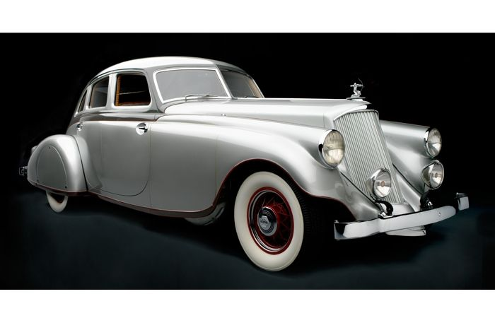 1934 Pierce Arrow Silver Arrow Sedan Frist Center For The Visual