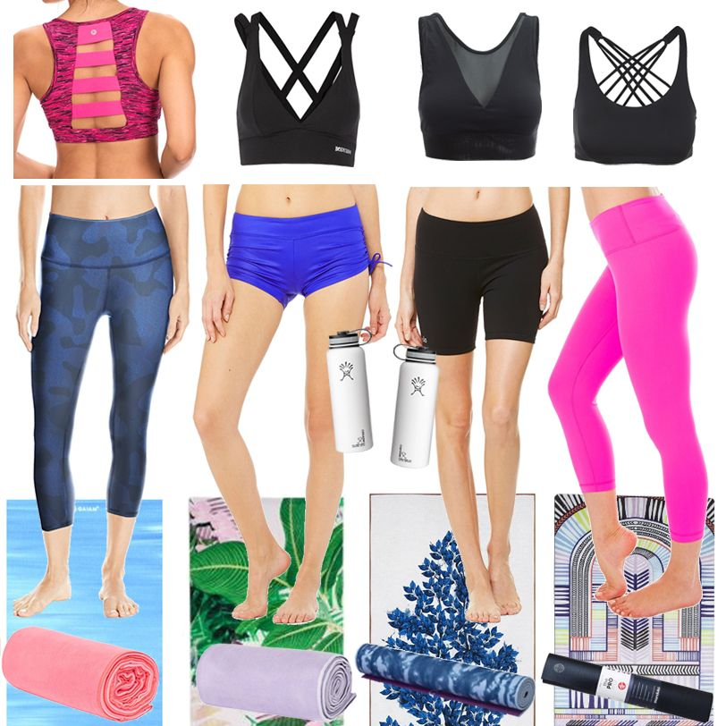 Style Ideas What To Wear For Hot Yoga And The Items You Ll Need To Bring With You To Class Incl Hot Yoga Outfit Fall Clothing Essentials Chic Outfits Spring