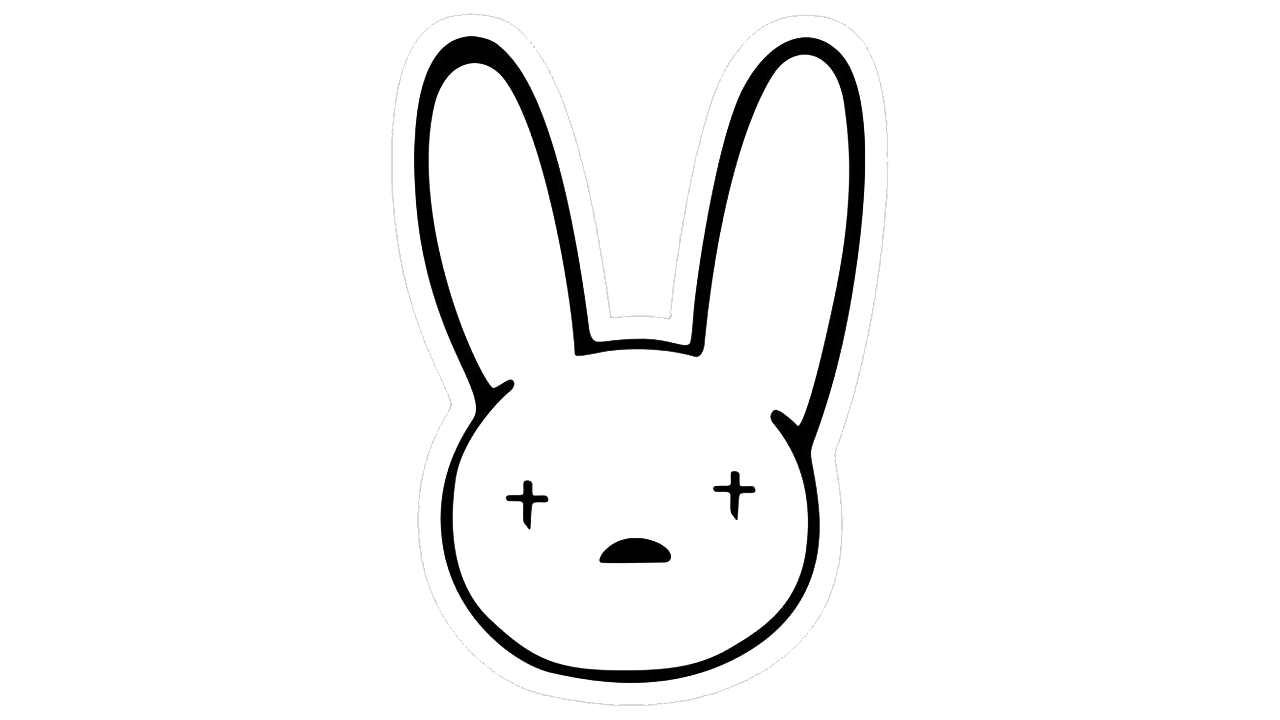 Bad Bunny Bunny Logo Dragon Ball Painting Logo Evolution