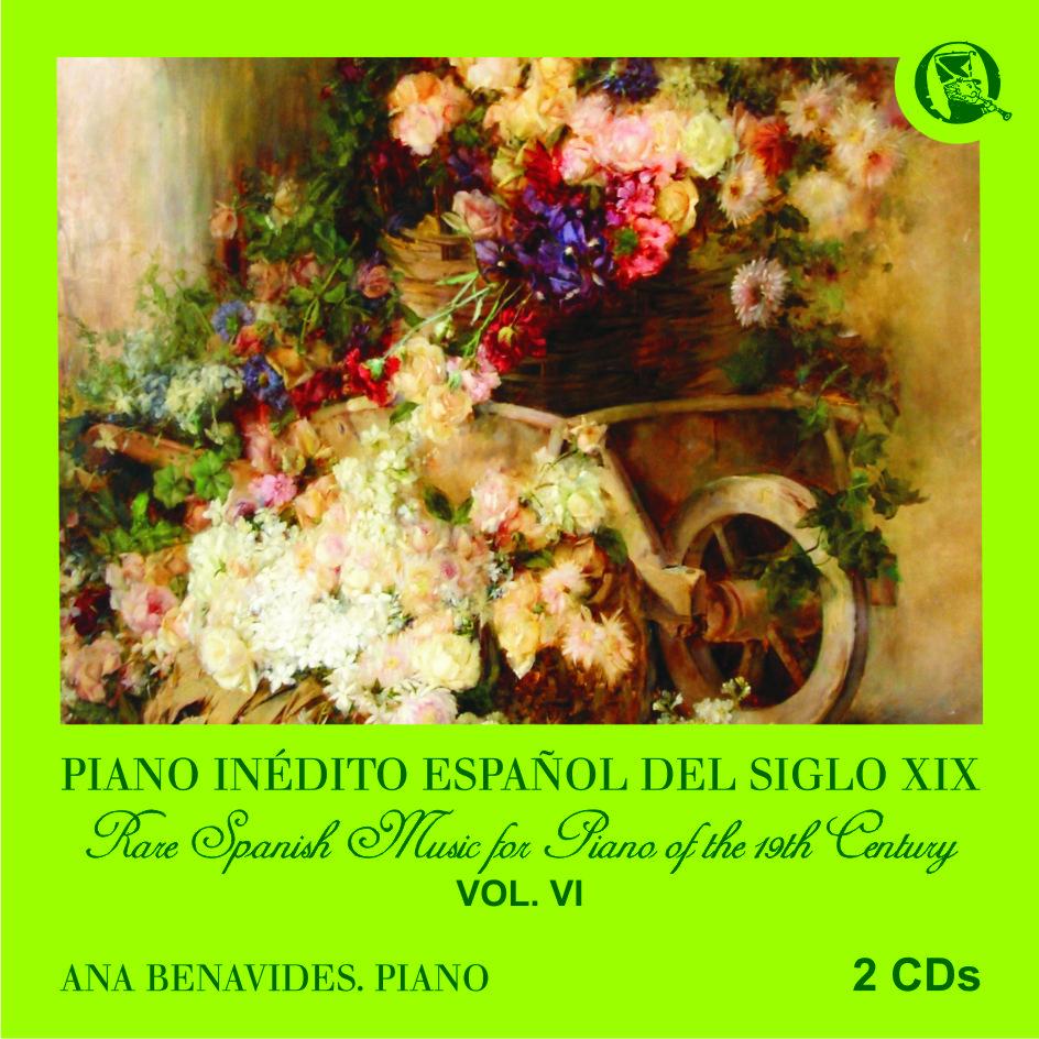 música clásica española del siglo XIX para piano