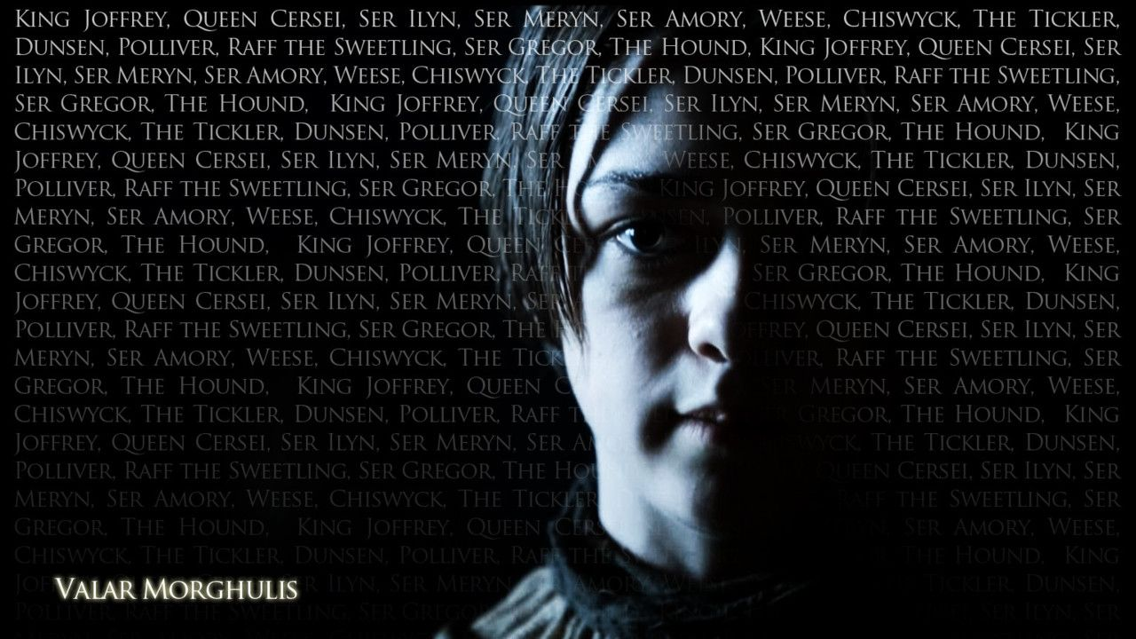 Valar Morgulis