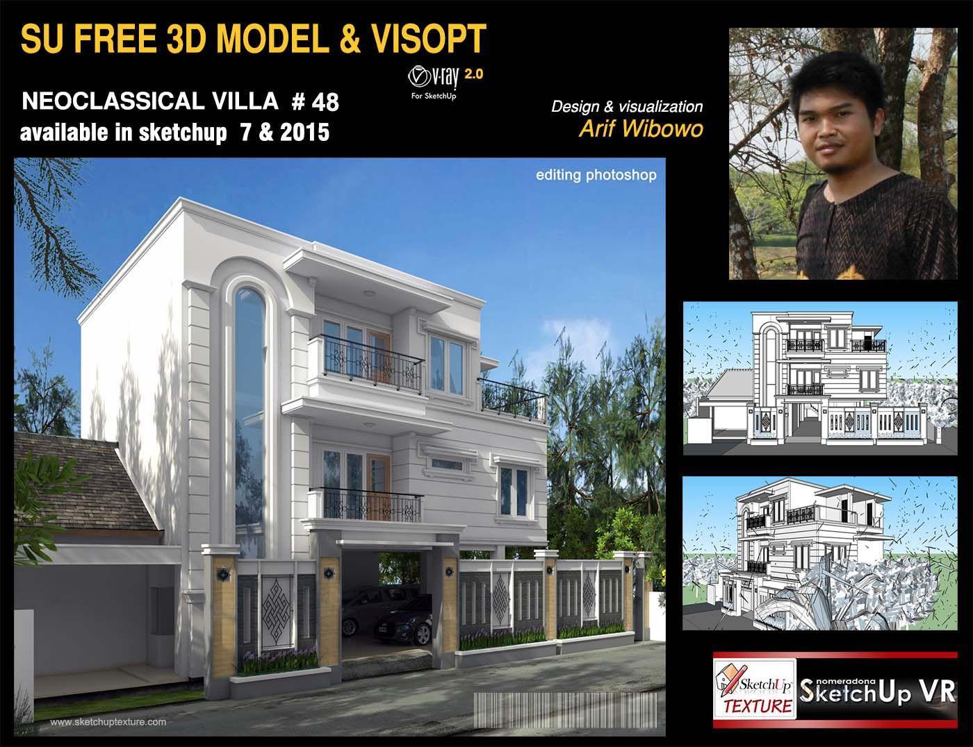 Sketchup free 3D models Sketchuptexture - induced info