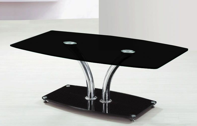 Chrome And Gl Accent Table Home Design Ideas