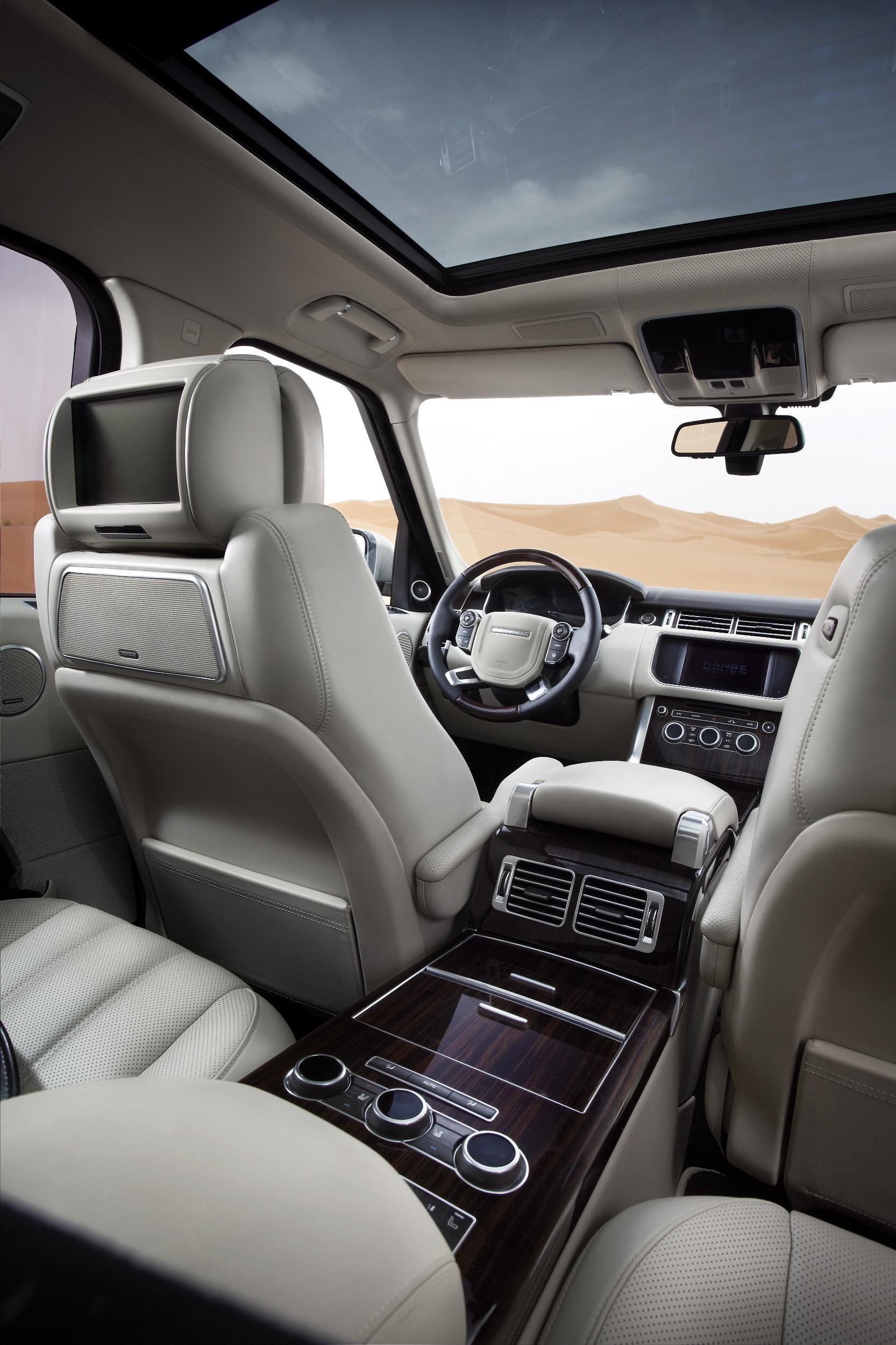 range rover vogue int rieur luxe dreamcars voiture automobile et voitures de luxe. Black Bedroom Furniture Sets. Home Design Ideas