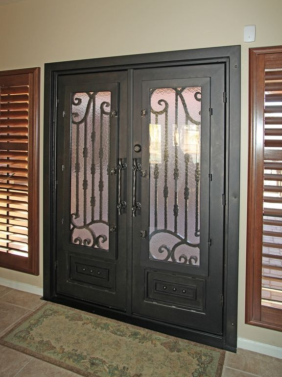 Verona Iron Entry Door - By First Impression Security Doors & Verona Iron Entry Door - By First Impression Security Doors ... pezcame.com