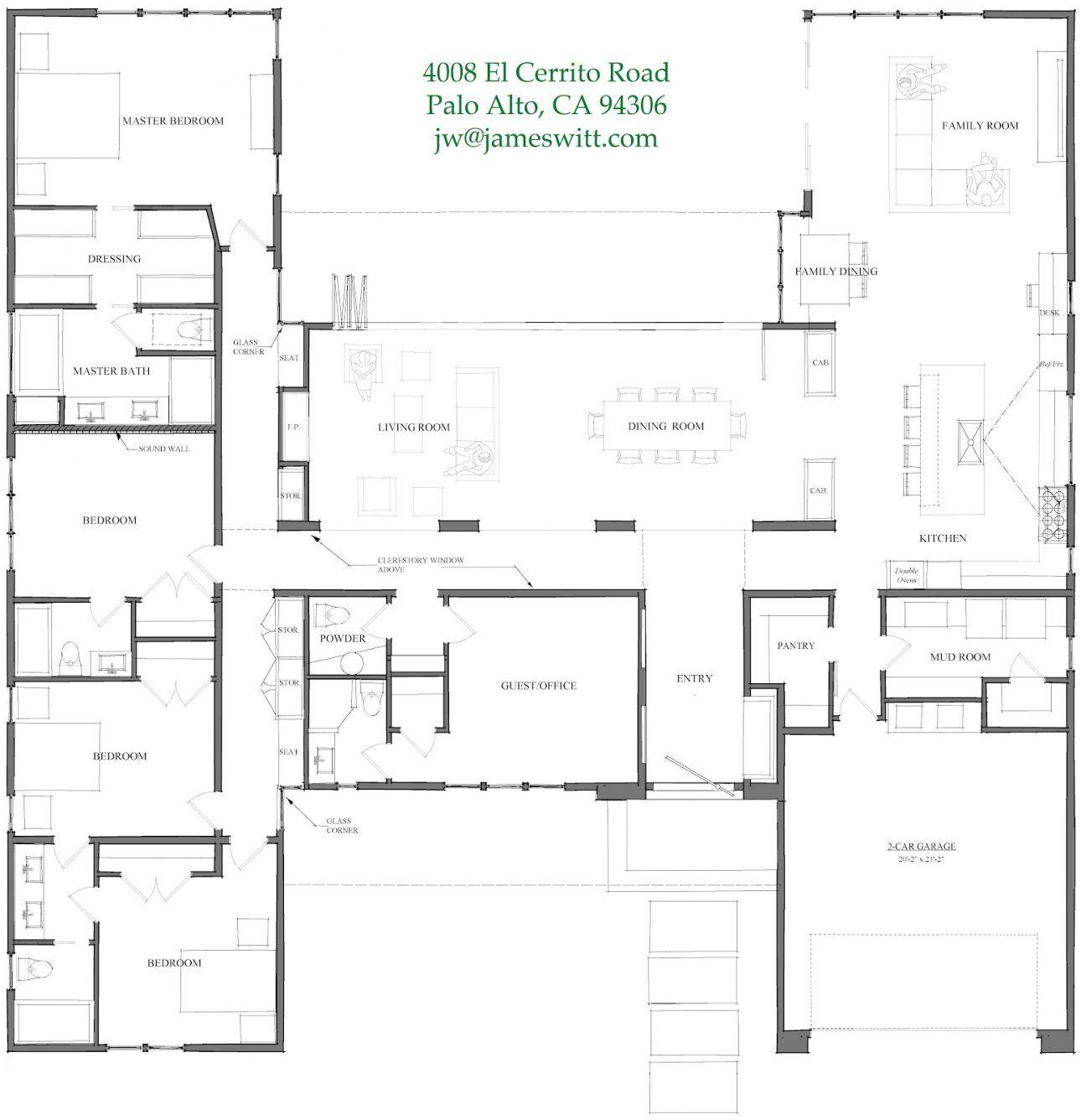4 Bedroom Bungalow Design Amazing 4 Bedroom Open Plan  Home Design  Pinterest  Open Plan And Bedrooms Design Ideas