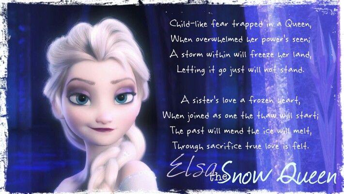 Elsa's poem