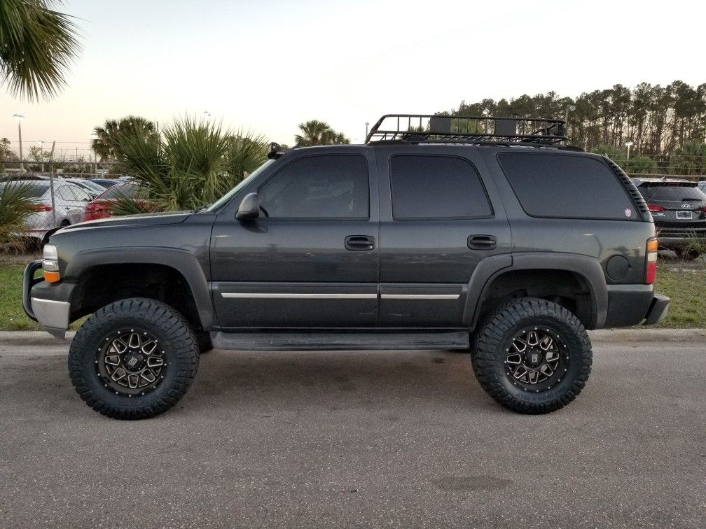Lifted 04 Tahoe By Sean Farmer Customs Look For Other Pics With