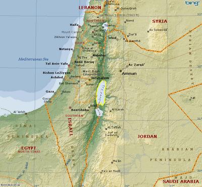 Map Of The Dead Sea Favourite Place Pinterest - Dead sea map
