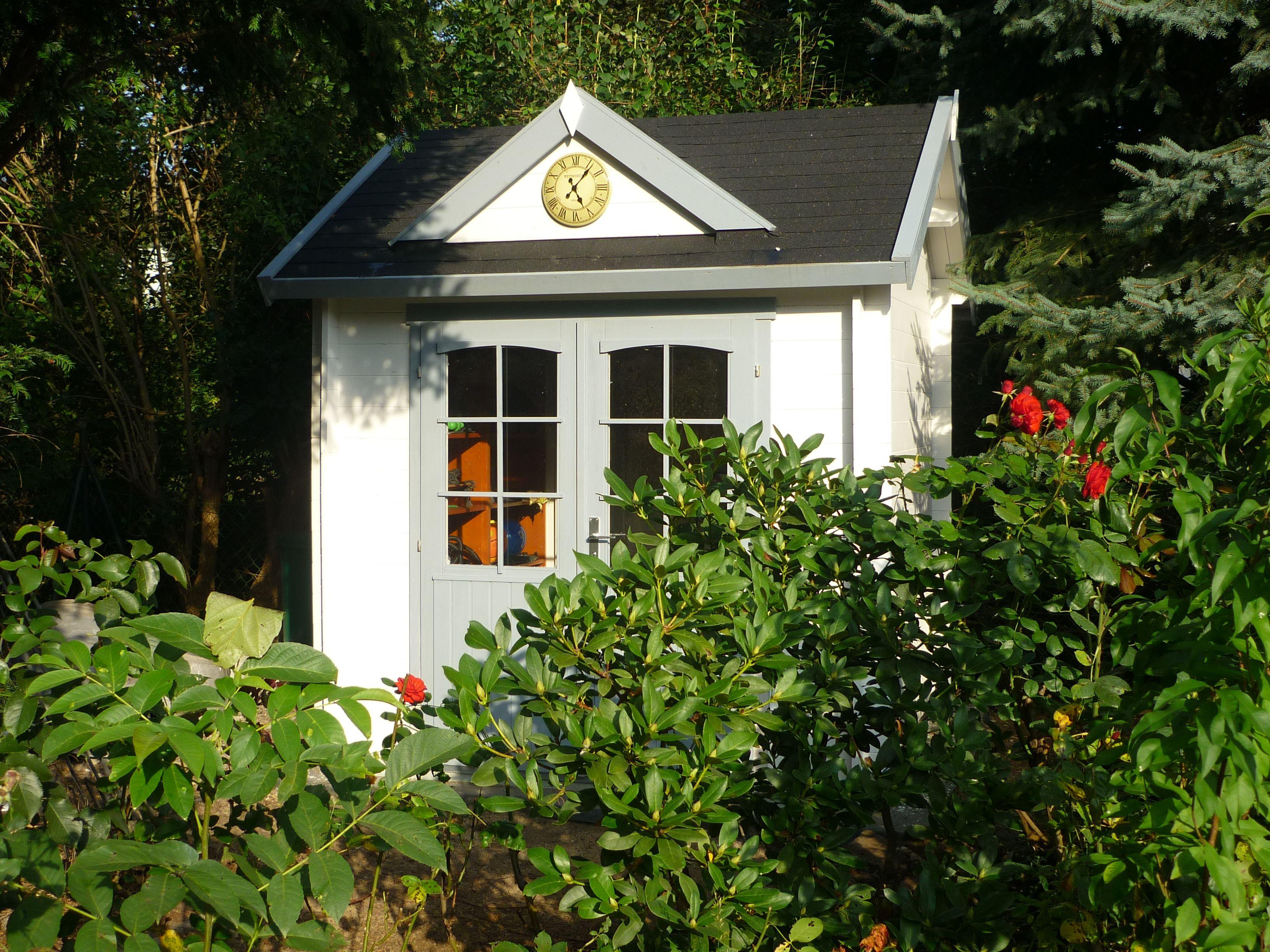 pin von gartenhaus gmbh auf clockhouse gartenh user pinterest gartenhaus garten und haus. Black Bedroom Furniture Sets. Home Design Ideas