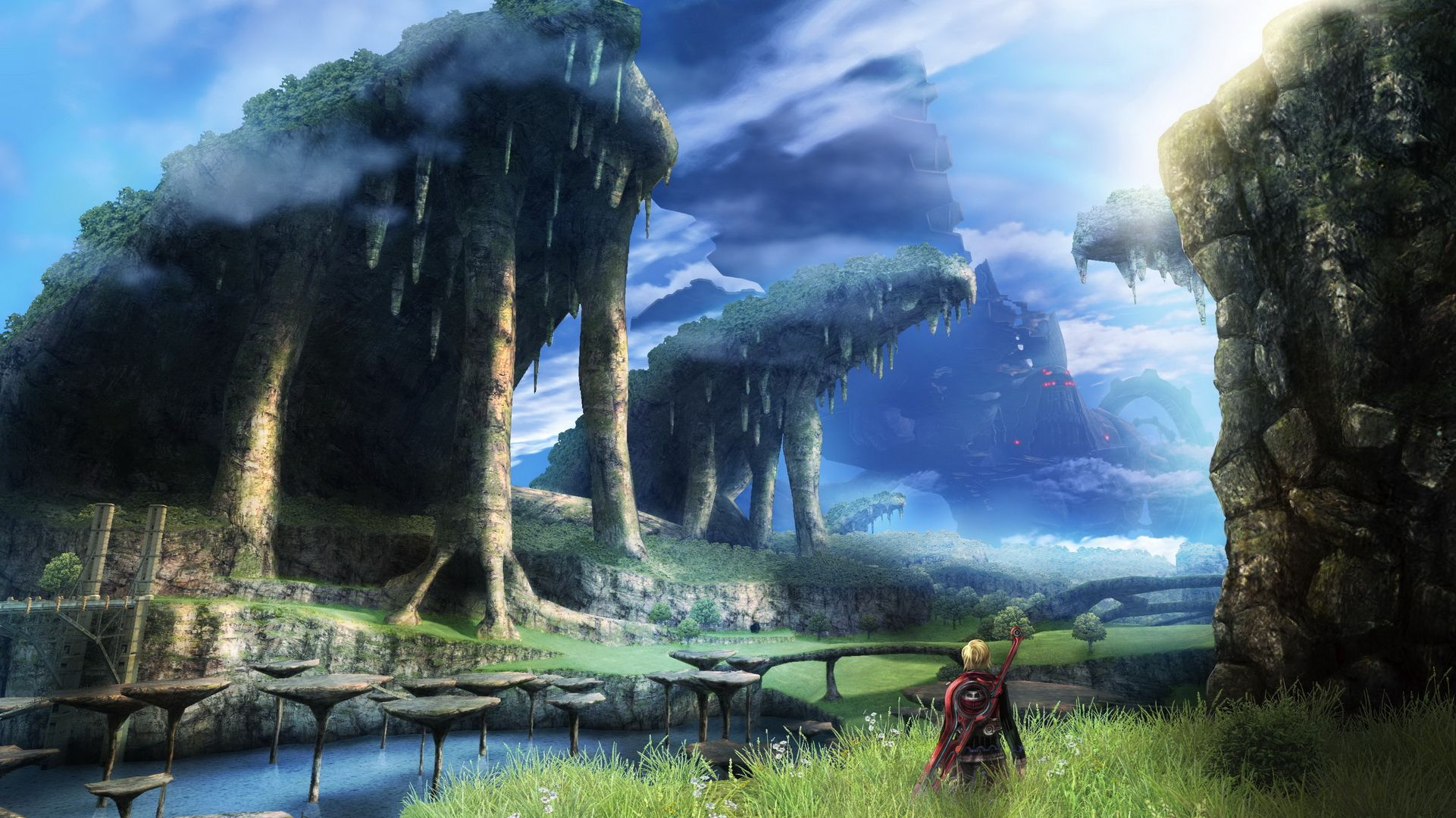 Video Game Xenoblade Chronicles Wallpaper Xenoblade Chronicles