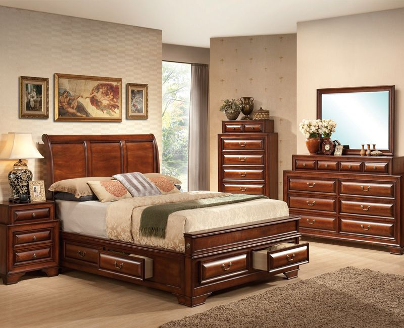 Fairmont 5Pc Bedroom Set Bedroom furniture sets