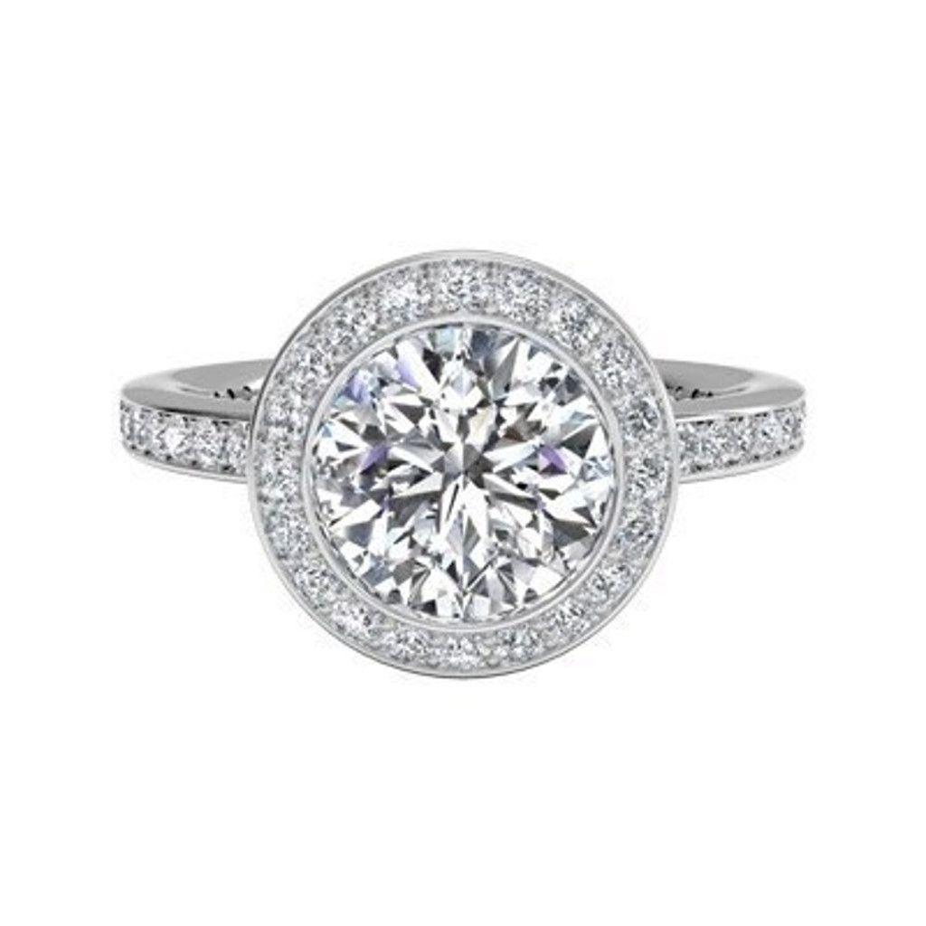Bague De Fiancaille Solitaire Diamant 080 Carat