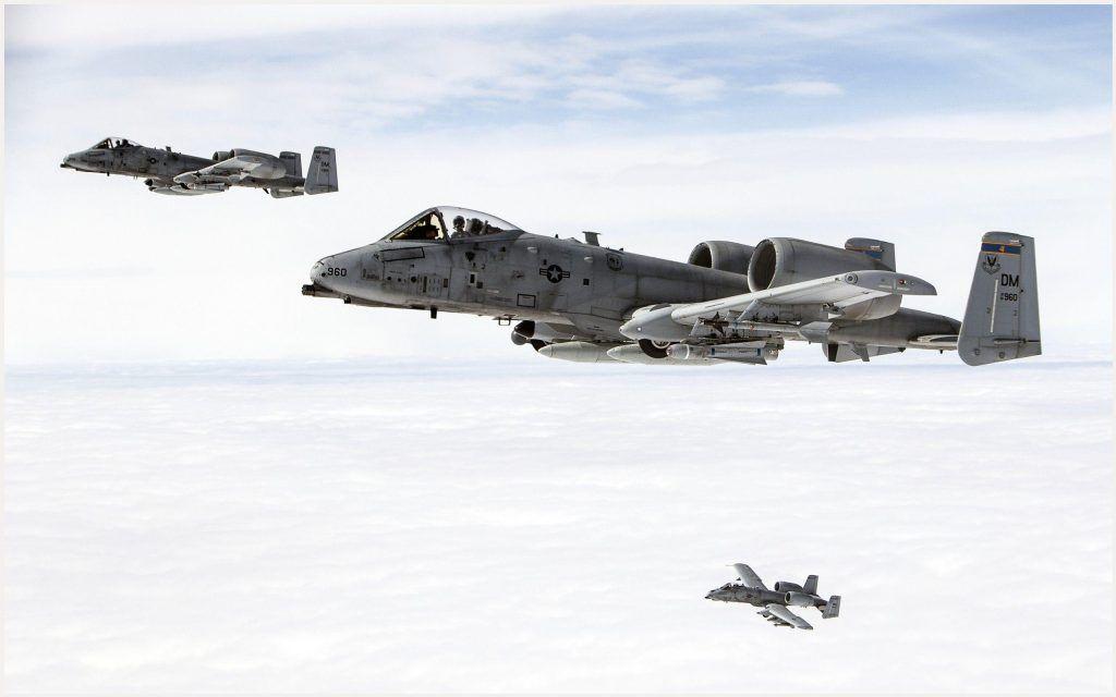 A10 Thunderbolt Fighter Jet Wallpaper
