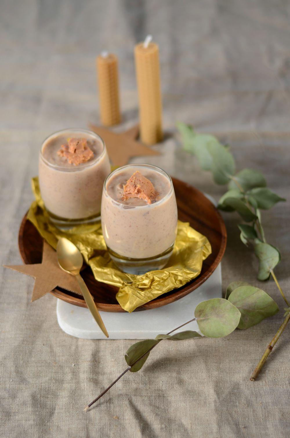 velout ch taignes et foie gras recette soupes. Black Bedroom Furniture Sets. Home Design Ideas