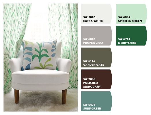 fabrics from Lulu DK Child collection from Schumacher. Paint colors from Chip It! by Sherwin-Williams