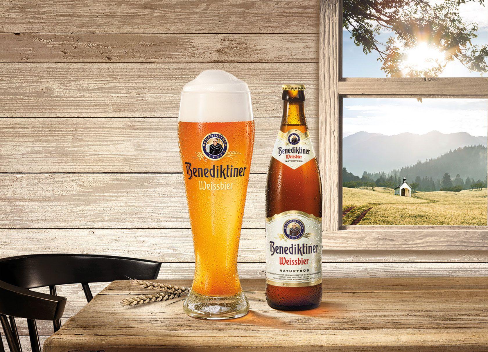 Agecheck Weissbier Bier Benediktiner