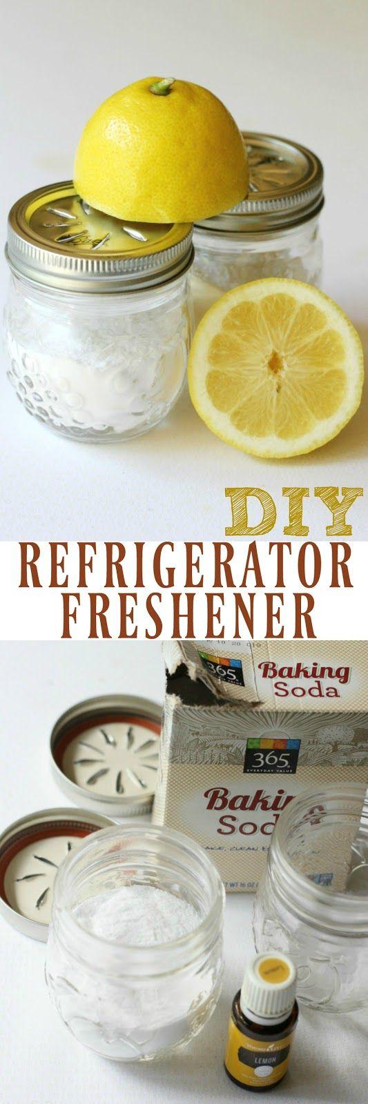 Diy Refrigerator Freshener Freshener Diy Diy Cleaning Products