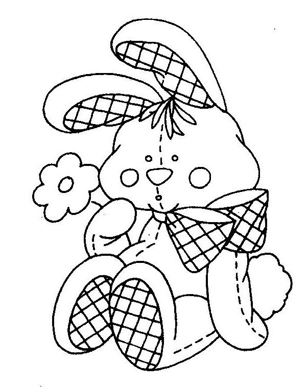 Stuffed Bunny Embroidery Diseños De Dibujo Bordado Dibujos Rhpinterestes: Stuffed Bunny Coloring Pages At Baymontmadison.com