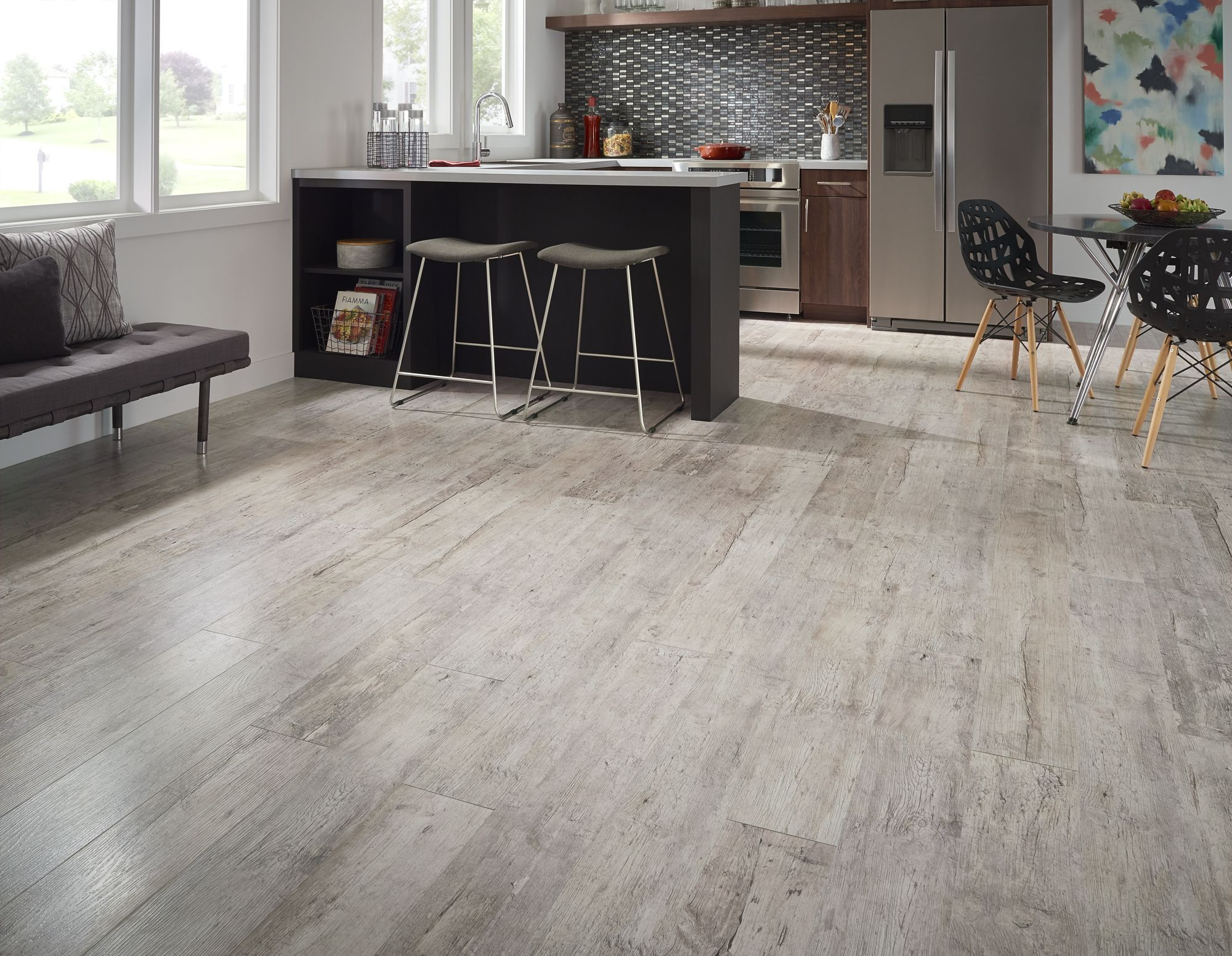 New Click Ceramic Plank Ccp Is Ideal For Any Room In
