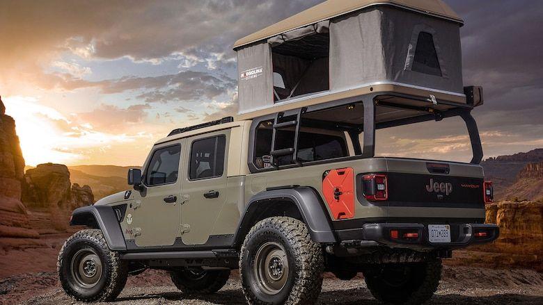 Six Custom 2020 Jeep Gladiator Trucks Coming To Easter Jeep Safari Jeep Gladiator Jeep Truck Jeep Pickup
