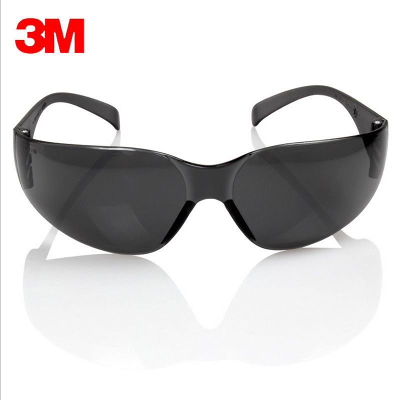 3m 11330 safety potective black goggles glasses for anti