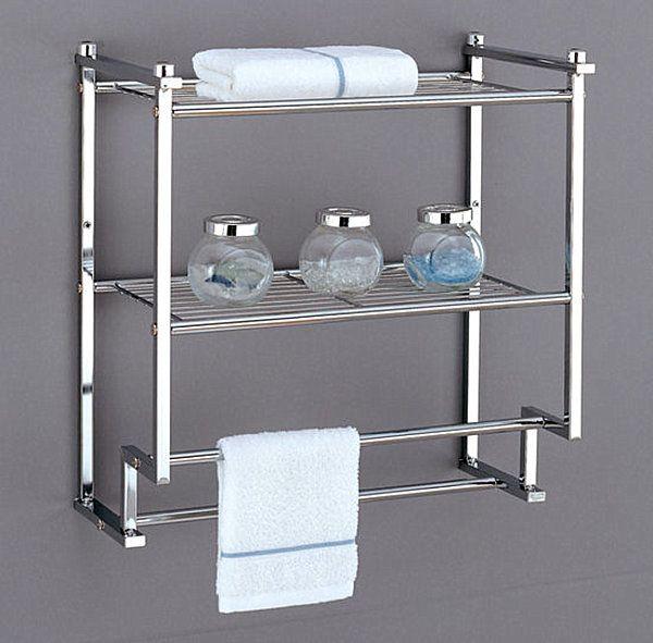Wall Mounted Bathroom Storage Unit Decoist Bathroom Wall