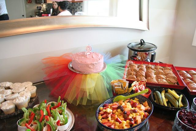 Cute ideas....DIY foam 2. Tutu cake. Tablecloth from ceiling decor.