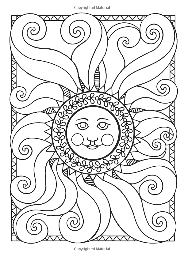 sun and moon coloring pages - photo#35