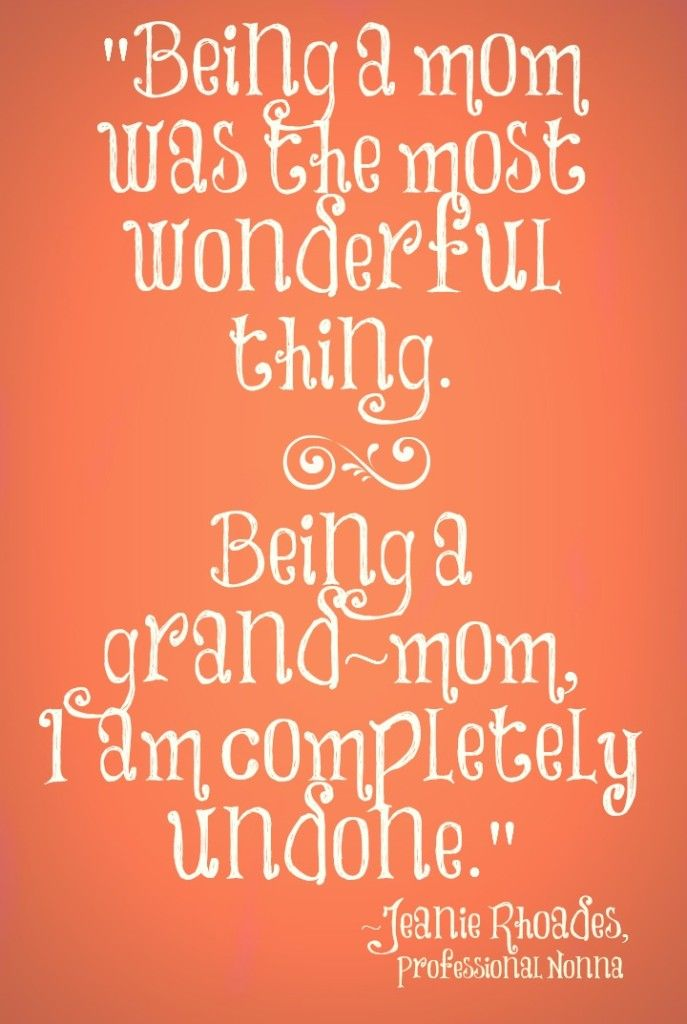 Grandparent quote. grandparenting nonna grandchildren