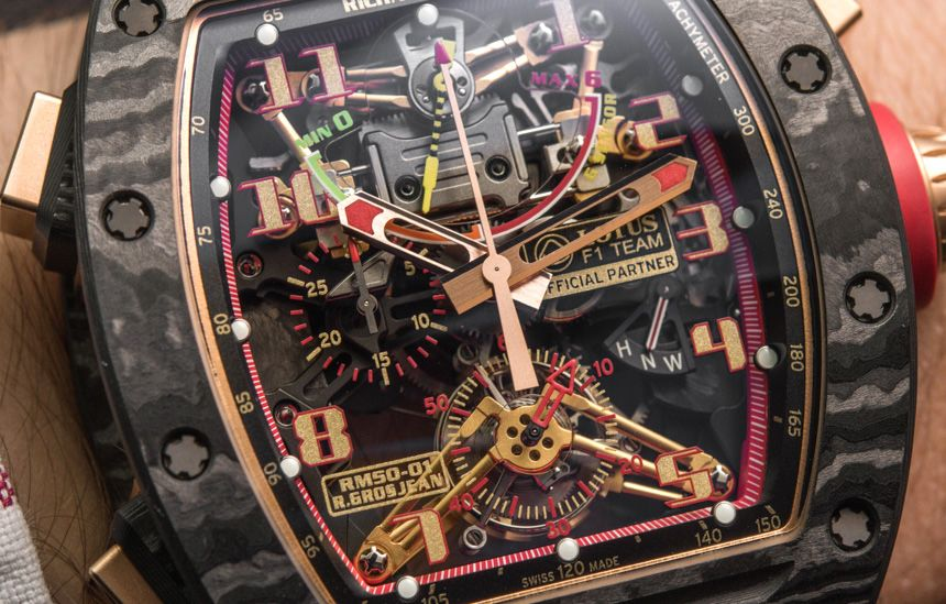 Richard Mille RM 50-01 G-Sensor Tourbillon Chronograph Watch Hands-On Hands-On