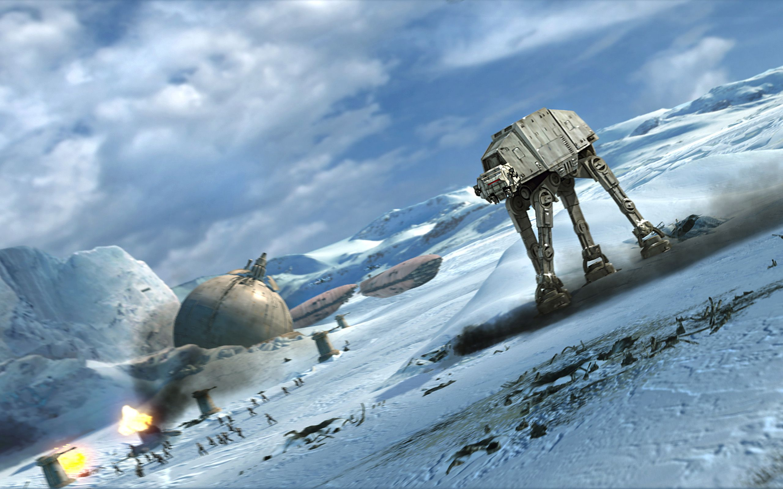Star Wars Computer Wallpapers Desktop Backgrounds 2560x1600 Id 215044 Star Wars Wallpaper Star Wars Hoth Star Wars
