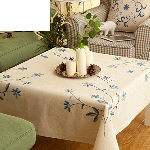 Cotton Garden Coffee Table Cloth Tablecloth Table Cloth