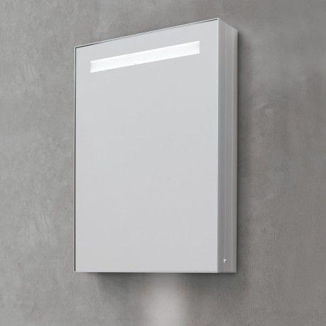 KOH-I-NOOR Riflessi LED Spiegelschrank mit Oberbeleuchtung - spiegelschrank fürs badezimmer