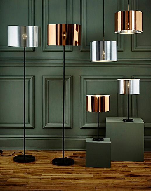 Brooklyn Copper Shiny Table Lamp | Home Essentials