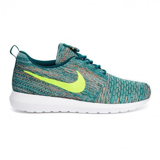 reputable site a0323 0b5c2 Nike Flyknit Rosherun 677243-300 Sneakers — Sneakers at CrookedTongues.com