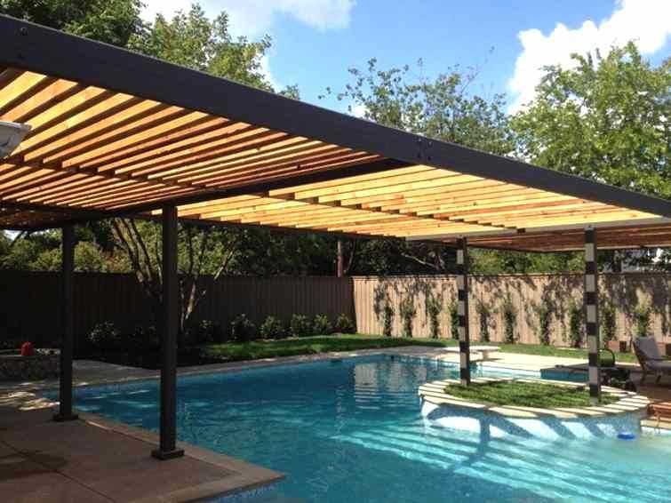 Cover Your Swimming Pool With Luxury Pool Pergolas Outdoor