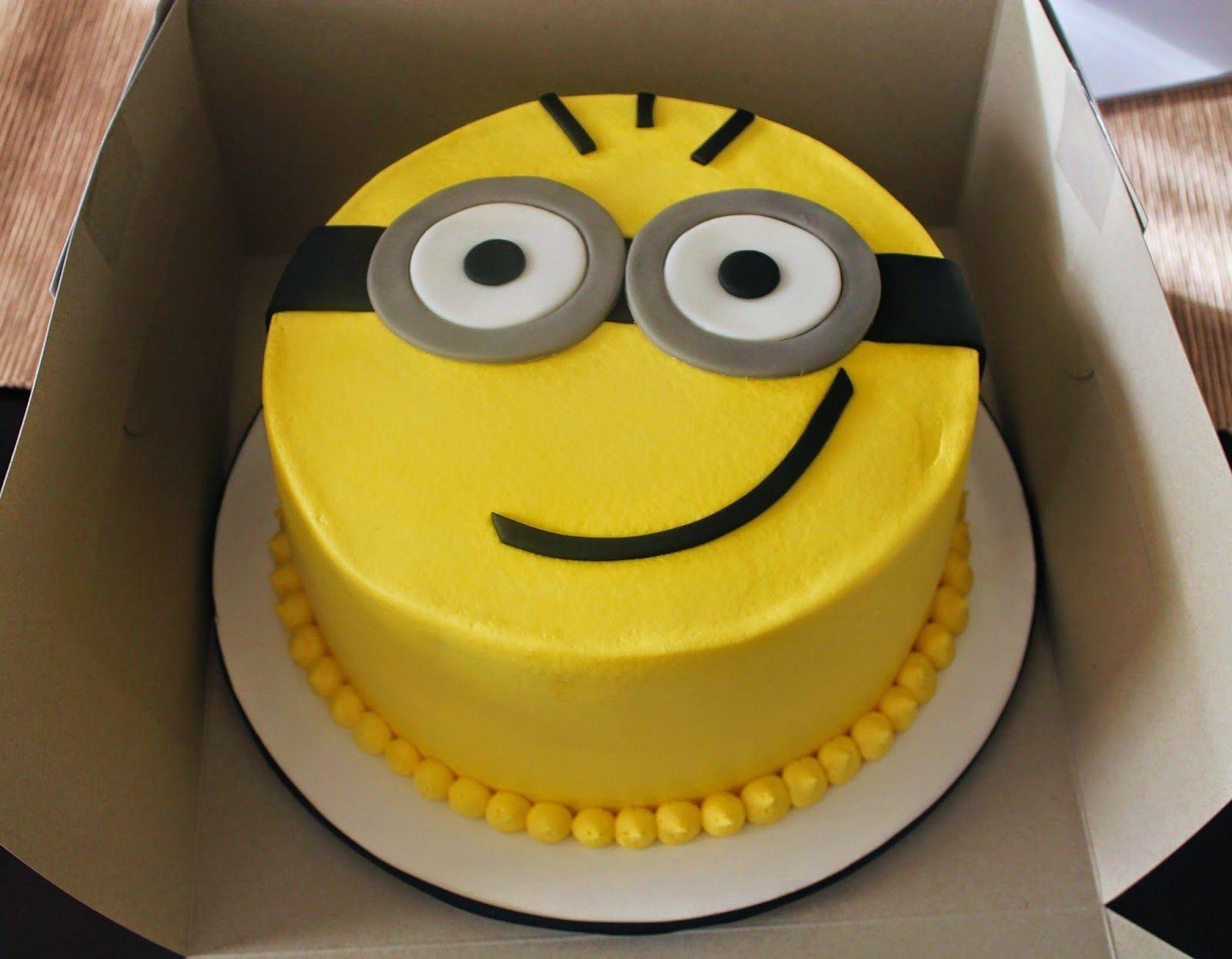 Google themes minions - Minion Cake And Cupcakes Google Search