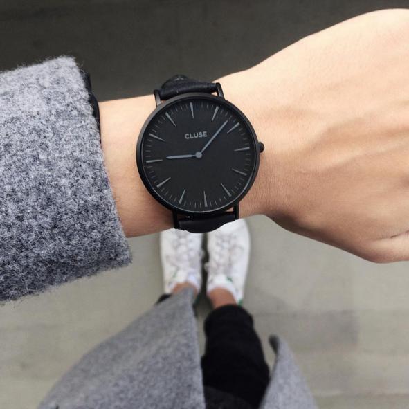 Très Cluse Watch - La Bohème Full Black | Watch | Pinterest | Black  EF75