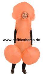 aufblasbare Kostüme, Fasching, Zubehör und vieles mehr - auf - www.ankommen.de