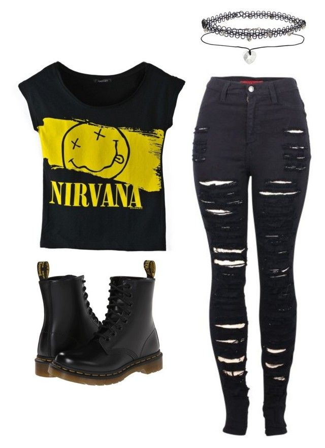 Outfit Idea By Polyvore Remix Cute Emo Outfits Punk Outfits Tomboy Outfits