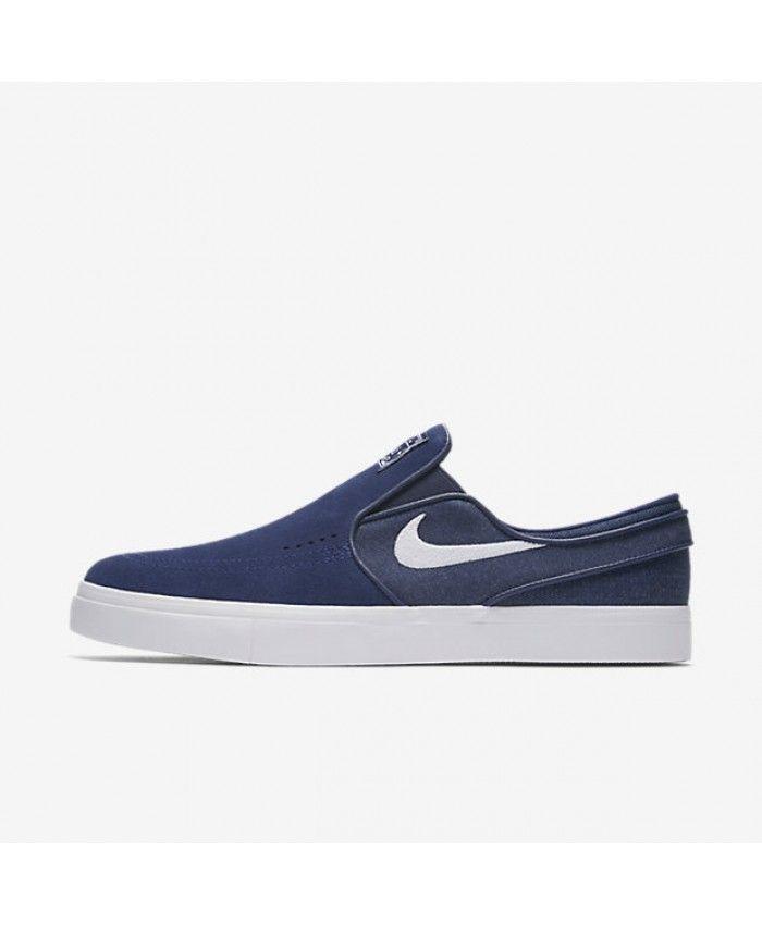 Nike SB Zoom Stefan Janoski Slip-On Binary Blue White 833564-411