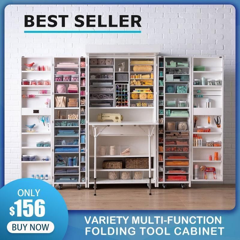 Variety Multi Function Folding Tool Cabinet Craft Storage Cabinets Cabinet Design Tool Cabinet