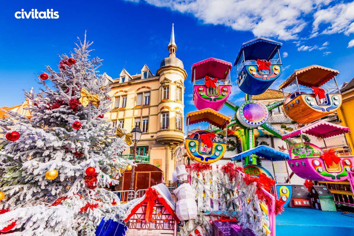 Navidad En Alsacia Mercado De Navidad Estrasburgo Alsacia
