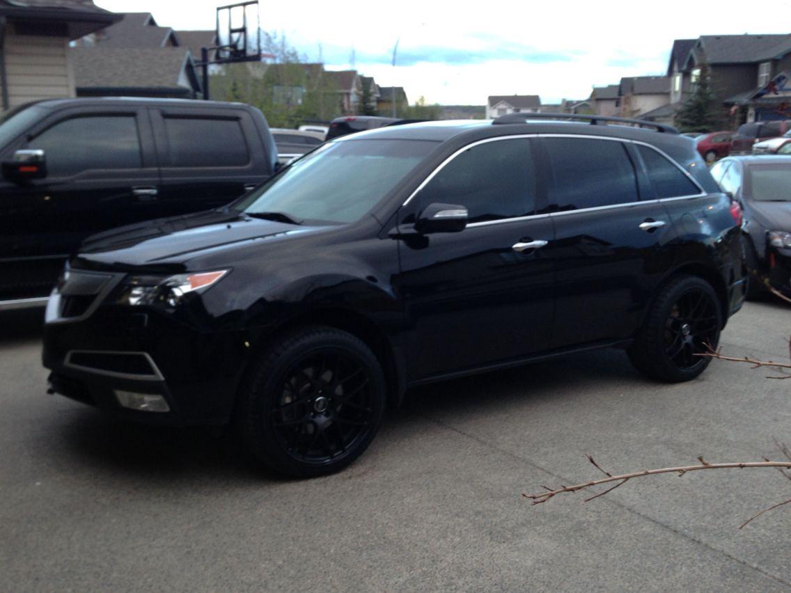 Blacked Out Acura Mdx Acura Mdx Blacked Out Black Acura Acura Mdx