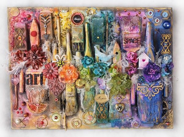 Paintings Handmade Products Sparkle Baby Palette Handmade
