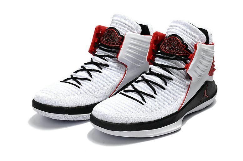9f15196a08a 2018 Original Air Jordan 32 XXXII Mens Nike BasketBall Shoes White Black Red