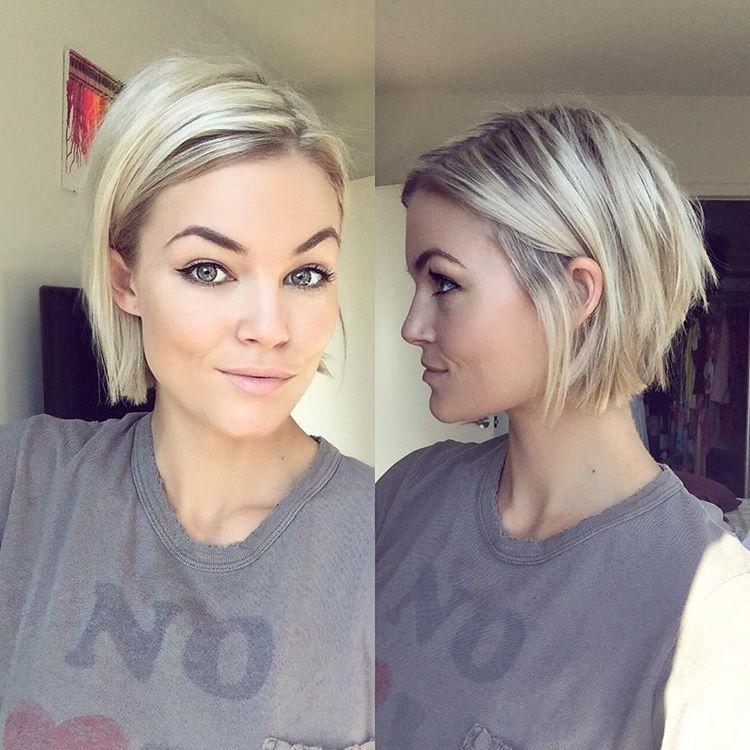 Krissa Fowles Sur Instagram Shorthairlove Products I Used Redken Texturizing Paste Roug Kurzhaarfrisuren Frisuren Bob Feines Haar Abgehackte Frisuren