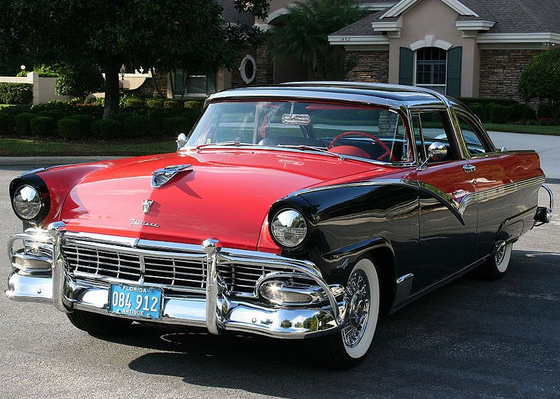 1956 ford fairlane crown victoria coupe mjc classic cars for 1956 ford crown victoria 2 door coupe
